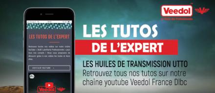 Nouvelle vidéo Les Tutos de l'expert - les huiles THFI