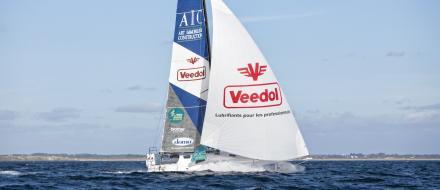 EPISODE 9 : Class 40 : Veedol-AIC lance la course  Route du Rhum - Destination Guadeloupe